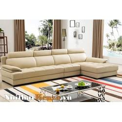 Không Gian Phòng Khách Nổi Bật Với Mẫu Ghế Sofa Da Cao Cấp đẹp SCC 28