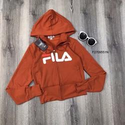Áo khoác FILA form lửng nón hàng thiết kế! MS: S270923 Giá sỉ: 155K