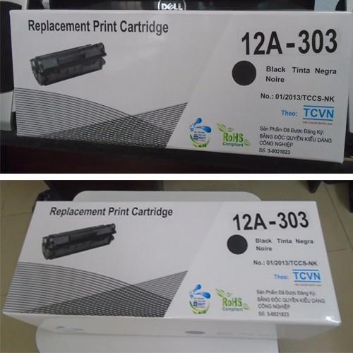 Hộp mực 12 A cho máy Canon và HP