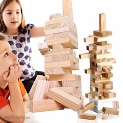 Bộ đồ chơi rút gỗ 48 miếng loại to