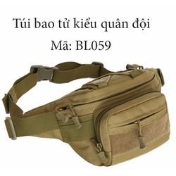 túi đeo bụng kiểu dáng quân đội