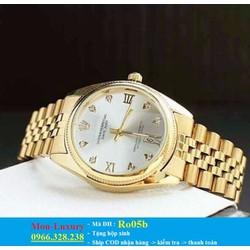 Đồng hồ nữ viền vàng sang trọng