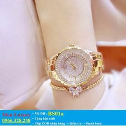Đồng hồ nữ đính dá cao cấp