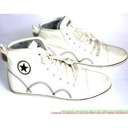 Giày da nam cổ cao phong cách trẻ trung sành điệu GTAC11