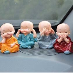 Bộ 4 tượng Nhật bản Tứ Không để bàn