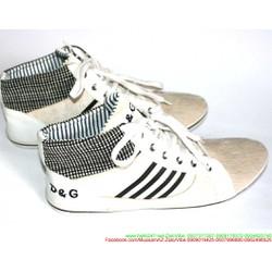 Giày da nam cổ cao phong cách sành điệu năng động