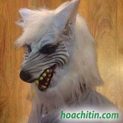Mặt nạ da sói trắng
