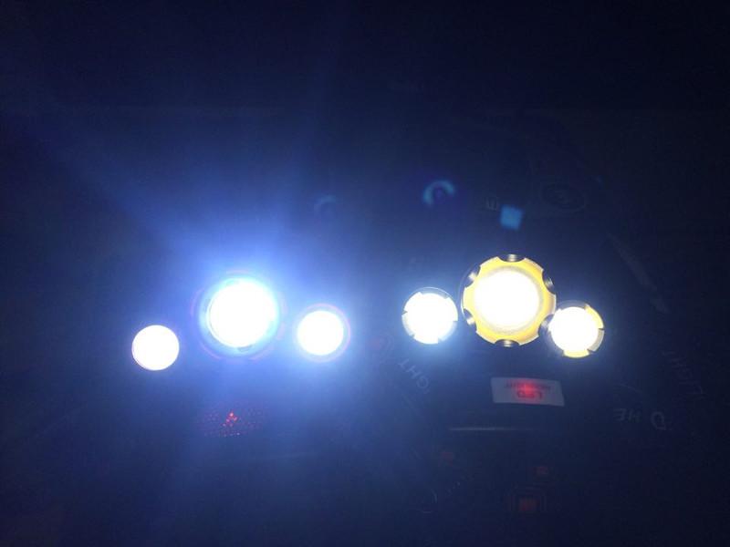 Đèn Pin Đội Đầu 3 Bóng T6 Led Siêu Sáng 31