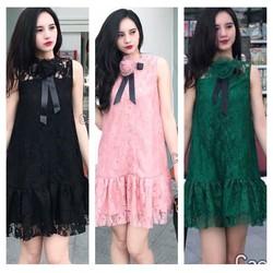 Đầm Suông Ren Hoa Hot Giá Sốc