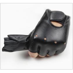 Găng tay da cụt ngón sành điệu,đủ size, có size trẻ con