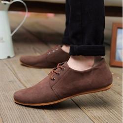 Giày Nam da lộn cao cấp Xu hướng thời trang mới