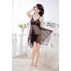 Váy lưới ngủ sexy