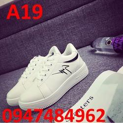 giày sneaker nữ phong cách hàn quốc A19