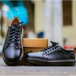 Giày đốc nam da sần giá rẻ nhất da thật , chất lượng cao