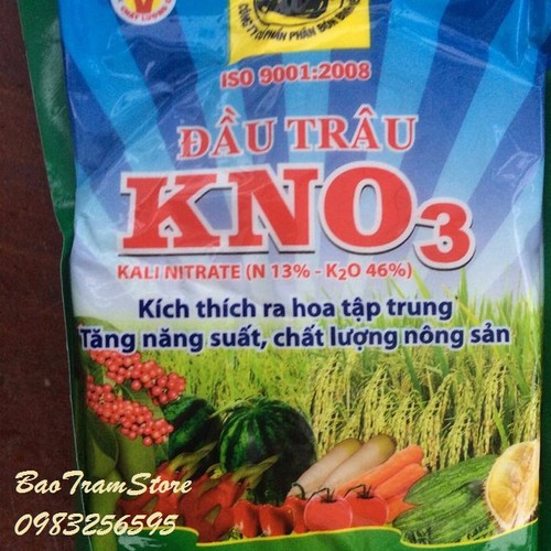 Phân bón Đầu Trâu KNO3 kích thích ra hoa cho cây trồng gói 200g - 4393666 , 7146197 , 15_7146197 , 20000 , Phan-bon-Dau-Trau-KNO3-kich-thich-ra-hoa-cho-cay-trong-goi-200g-15_7146197 , sendo.vn , Phân bón Đầu Trâu KNO3 kích thích ra hoa cho cây trồng gói 200g