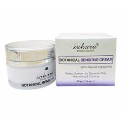 Kem dưỡng cho da nhạy cảm Sakura Botanical Sensitive Cream