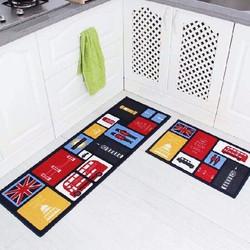 Bộ 2 thảm bếp siêu thấm-Thảm trải bếp