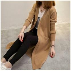 áo khoác len from dài