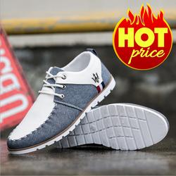 Giày Vải Nam Buộc Dây Denim Trend 2017