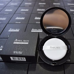 Phấn nước April Skin Magic Snow Cushion SPF 50++ PA+++ đủ 3 tone