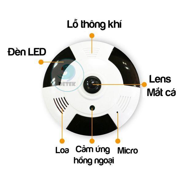 Camera IP VR Yoosee X9200 siêu nhỏ 360 độ HD 720P Mini 11