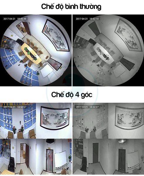 Camera IP VR Yoosee X9200 siêu nhỏ 360 độ HD 720P Mini 3