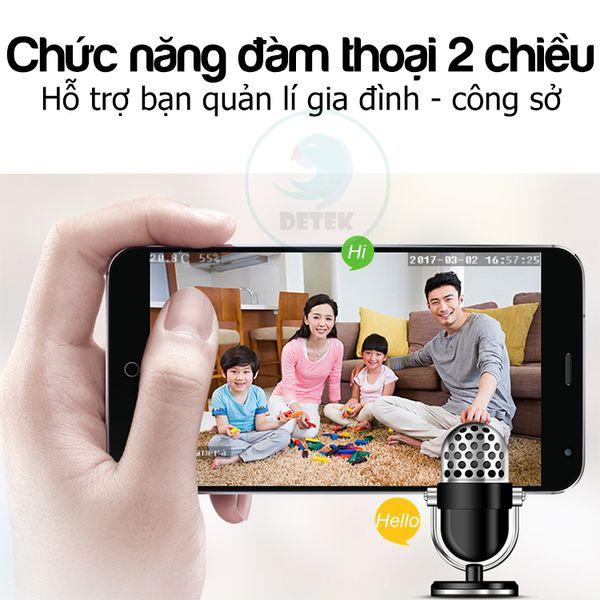 Camera IP VR Yoosee X9200 siêu nhỏ 360 độ HD 720P Mini 10