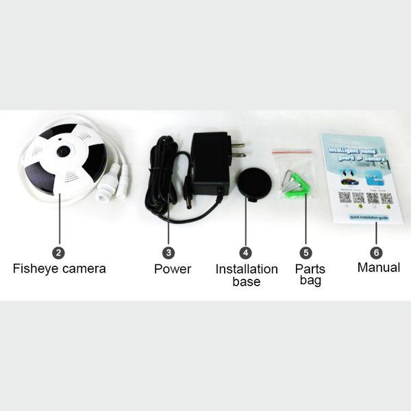 Camera IP VR Yoosee X9200 siêu nhỏ 360 độ HD 720P Mini 13