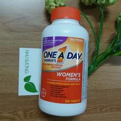 Viên đa vitamin ONE A DAY 300 viên cho nữ