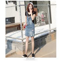 váy yếm jean trẻ trung TB0420