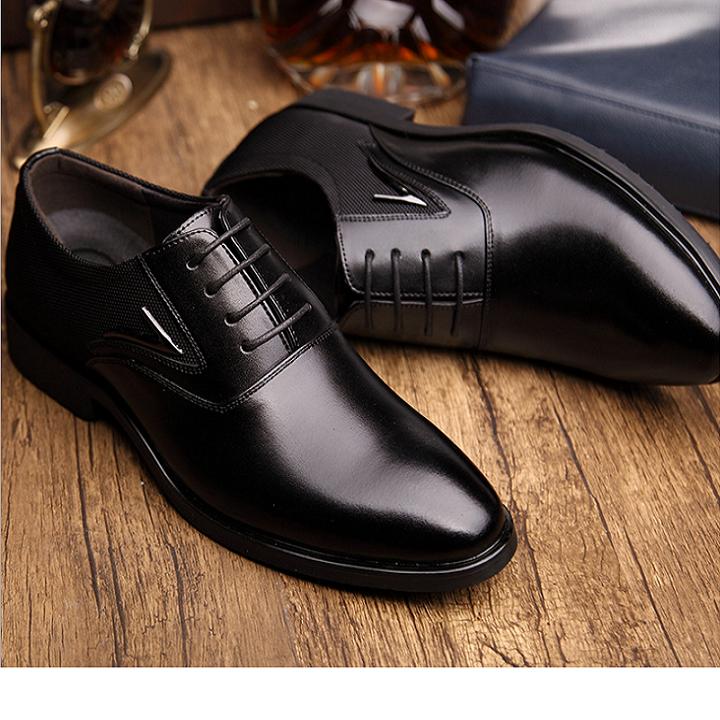 Giày da cao cấp   Giày tây da bò 3