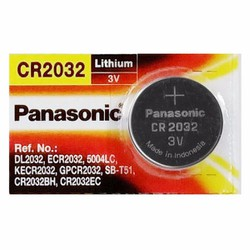 Pin Cúc áo CR2032 Panasonic 3V - Vỉ 1 viên