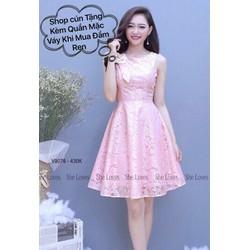 Đầm Xoè Ren Hot Mua 1 Tặng 1