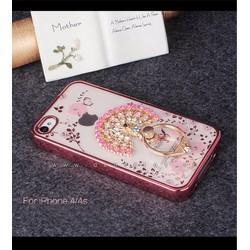 Ốp lưng Iphone 4, 4S dẻo hình hoa