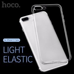 Ốp lưng silicon dẻo trong suốt Hoco chính hãng cho iPhone 7 Plus.