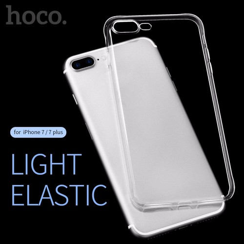 Ốp lưng silicon dẻo trong suốt Hoco chính hãng cho iPhone 7 Plus. - 5082625 , 7165181 , 15_7165181 , 75000 , Op-lung-silicon-deo-trong-suot-Hoco-chinh-hang-cho-iPhone-7-Plus.-15_7165181 , sendo.vn , Ốp lưng silicon dẻo trong suốt Hoco chính hãng cho iPhone 7 Plus.