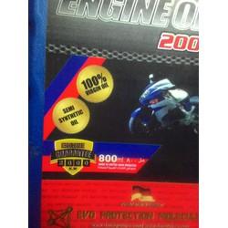 Nhớt bán tổng hợp DANA cho xe máy chất lượng cao.