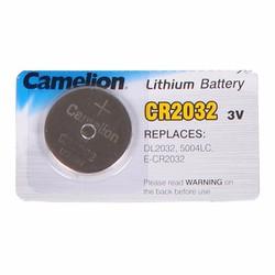 Pin Cúc áo CR2032 Camelion 3V - Vỉ 5 viên