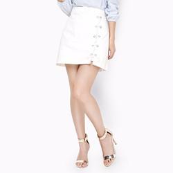 Chân váy thời trang phối dây rút phong cách