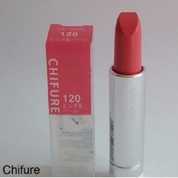 Son Chifure 120 - màu hồng ngọc - hàng Nhật chính hãng