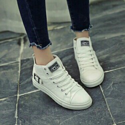 Giày bata cổ cao nữ