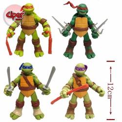 Trọn bộ 4 nhân vật Ninja Rùa