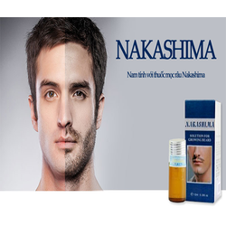 Thuốc MỌC RÂU Nakashima NHẬT