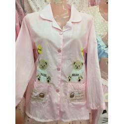 Bộ mặc nhà pjyama chất đẹp in hình dễ thương