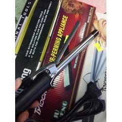 combo máy uốn tóc zf và máy sấy mini