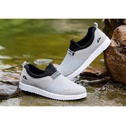giày thể thao lười siêu nhẹ 3 màu đen ,xanh ,xám