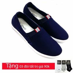 Giày lười vải chất  liệu cao cấp TX664X