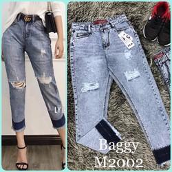 quần baggy jeans rách