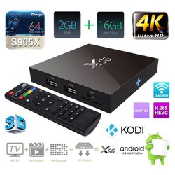 Box Smart Tivi Box Android X96