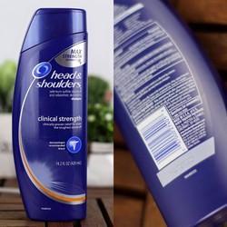 Dầu Gội Đặc Trị Gàu Head  Shoulders Clinical Strength Shampoo
